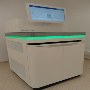 photo of the Illumuina NovaSeq 6000 sequencing system