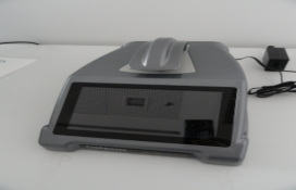 photo of the Ultraviolet-visible spectrofotometer (microliter type)