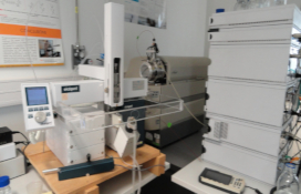 photo of the Liquid Chromatography - Mass Spectrometer
