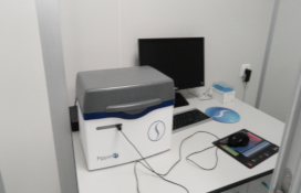 photo of the DNA size selection for Next-Generation Sequencing