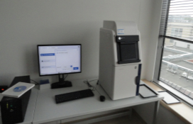 photo of the Imager for chemiluminescence, UV, white light transillumination and multifluorescence