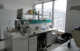 photo of the Cell Laboratory adapted to conduct experiments with GMO I and GMM II