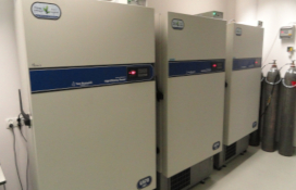photo of the Ultra-Low Temperature Freezer