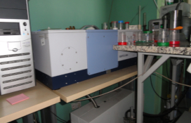 photo of the IR Spectrometer