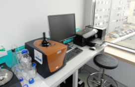 photo of the Titration calorimetry set